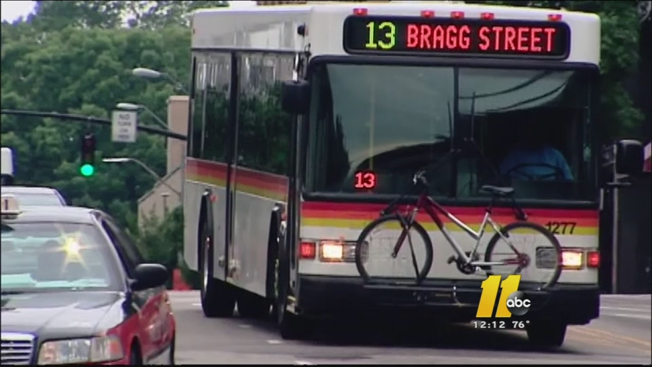 Raleigh bus