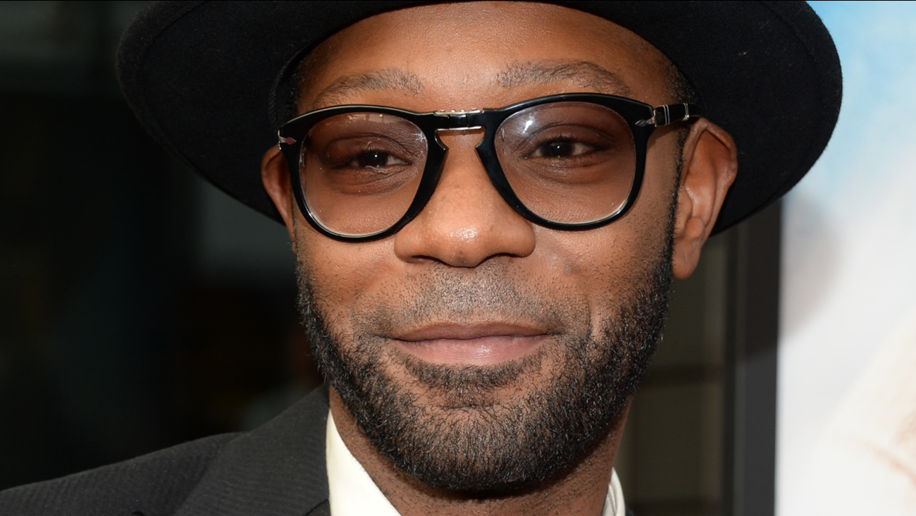 "Nelsan Ellis attends the world premiere of ""Get On Up"" at the Apollo Theater on Monday, July 21, 2014, in New York."