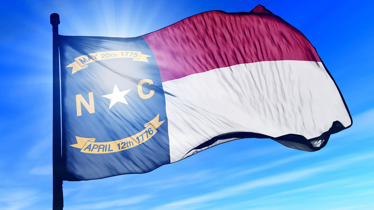 The North Carolina flag