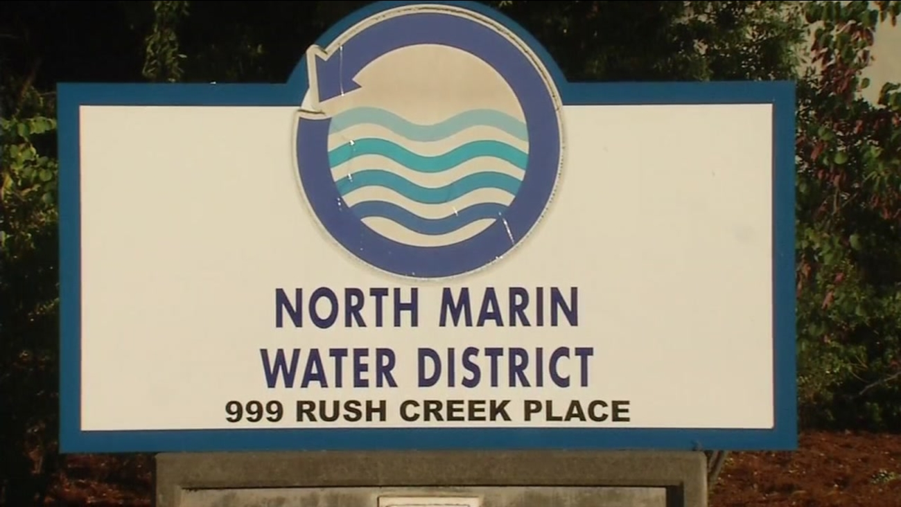 This is an undated sign for the North Marin Water District.