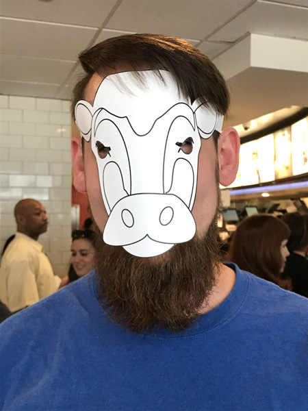 <div class='meta'><div class='origin-logo' data-origin='none'></div><span class='caption-text' data-credit=''>Chick-fil-A gave out free food to anyone wearing a cow costume at the State and Lake location on Cow Appreciation Day, July 11, 2017.</span></div>