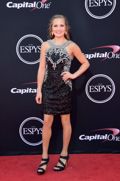 <div class='meta'><div class='origin-logo' data-origin='none'></div><span class='caption-text' data-credit='Matt Winkelmeyer/Getty Images'>LOS ANGELES, CA - JULY 12:  Gymnast Madison Kocian attends The 2017 ESPYS at Microsoft Theater on July 12, 2017 in Los Angeles, California.</span></div>