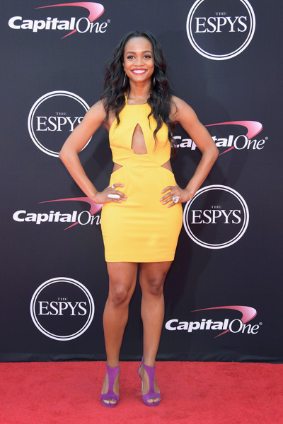 <div class='meta'><div class='origin-logo' data-origin='none'></div><span class='caption-text' data-credit='Matt Winkelmeyer/Getty Images'>LOS ANGELES, CA - JULY 12:  TV personality Rachel Lindsay attends The 2017 ESPYS at Microsoft Theater on July 12, 2017 in Los Angeles, California.</span></div>
