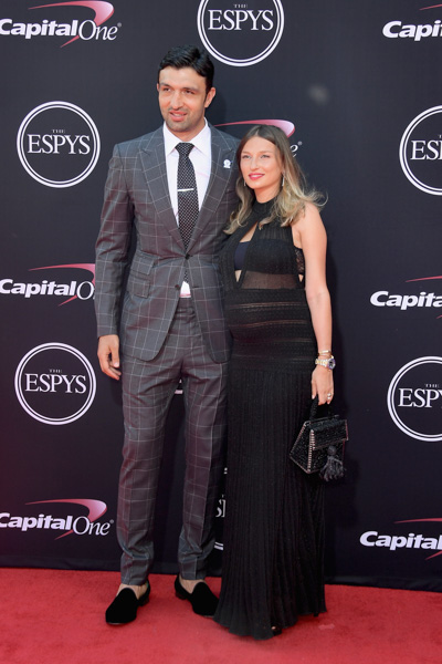 <div class='meta'><div class='origin-logo' data-origin='none'></div><span class='caption-text' data-credit='Matt Winkelmeyer/Getty Images'>NBA player Zaza Pachulia and Tika Pachulia attend The 2017 ESPYS at Microsoft Theater on July 12, 2017 in Los Angeles, California.</span></div>