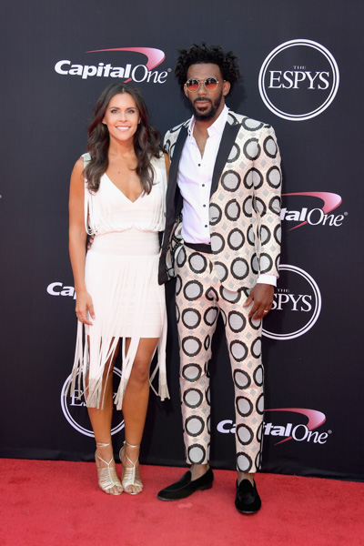 <div class='meta'><div class='origin-logo' data-origin='none'></div><span class='caption-text' data-credit='Matt Winkelmeyer/Getty Images'>NBA player Mike Conley Jr. (R) and Mary Conley attend The 2017 ESPYS at Microsoft Theater on July 12, 2017 in Los Angeles, California.</span></div>