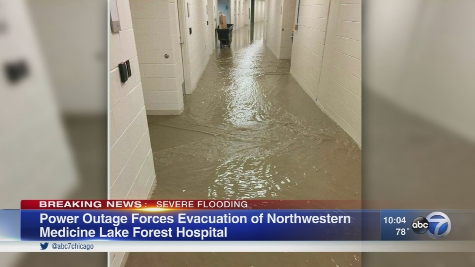 Power outage forces evacuation of Lake Forest Hospital