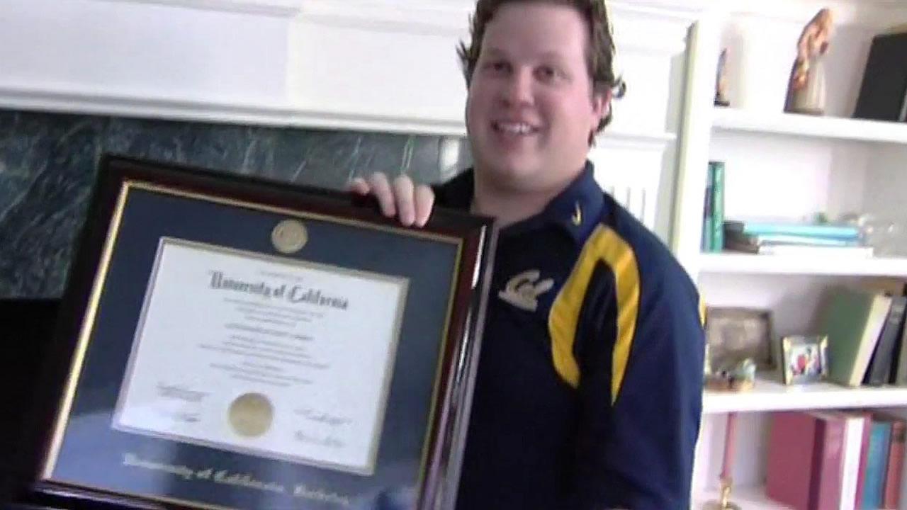 UC Berkeley diploma typo