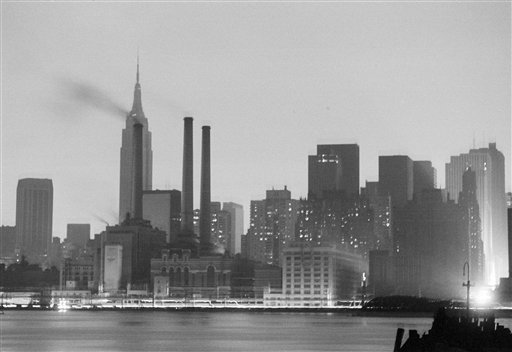 "<div class=""meta image-caption""><div class=""origin-logo origin-image ap""><span>AP</span></div><span class=""caption-text"">The Manhattan skyline is dark, July 13, 1977, after a power failure stuck all five boroughs of New York City. This view was made from Queens. (AP Photo)</span></div>"