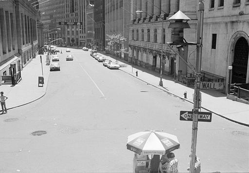 "<div class=""meta image-caption""><div class=""origin-logo origin-image ap""><span>AP</span></div><span class=""caption-text"">New York's Wall Street is deserted Thursday, July 14, 1977, after a massive power failure that lasted overnight from Wednesday forced the closing of the New York Stock Exchange. (AP Photo)</span></div>"
