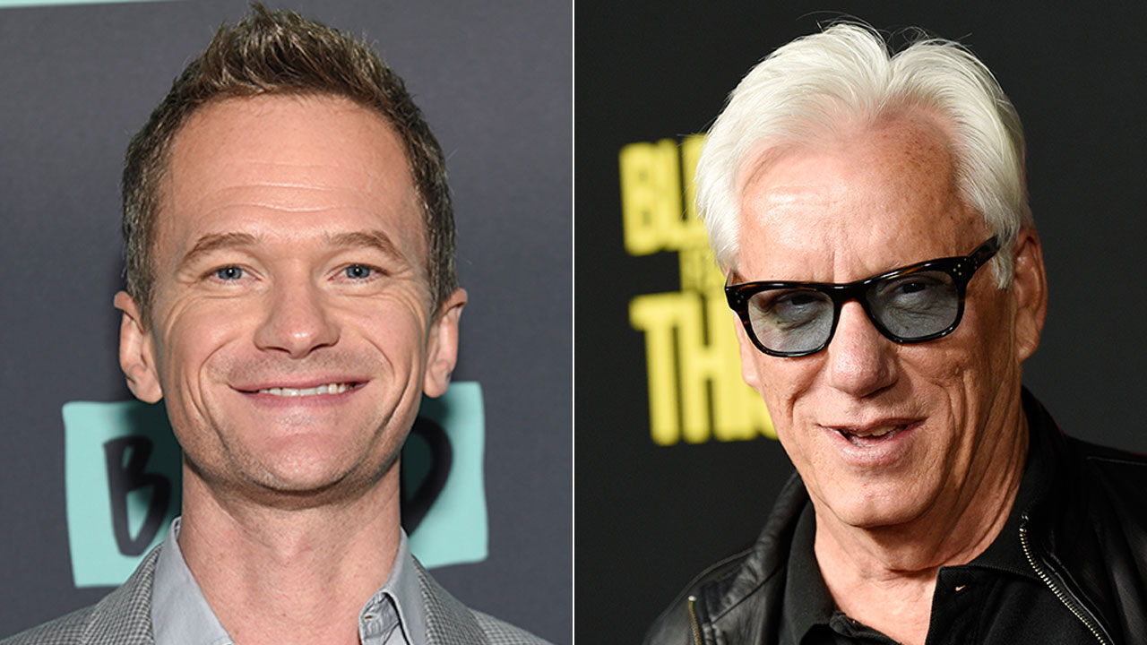 Actors Neil Patrick Harris (left) and James Woods engaged in a Twitter feud over an Orange County family's picture of their son at a gay-pride parade.