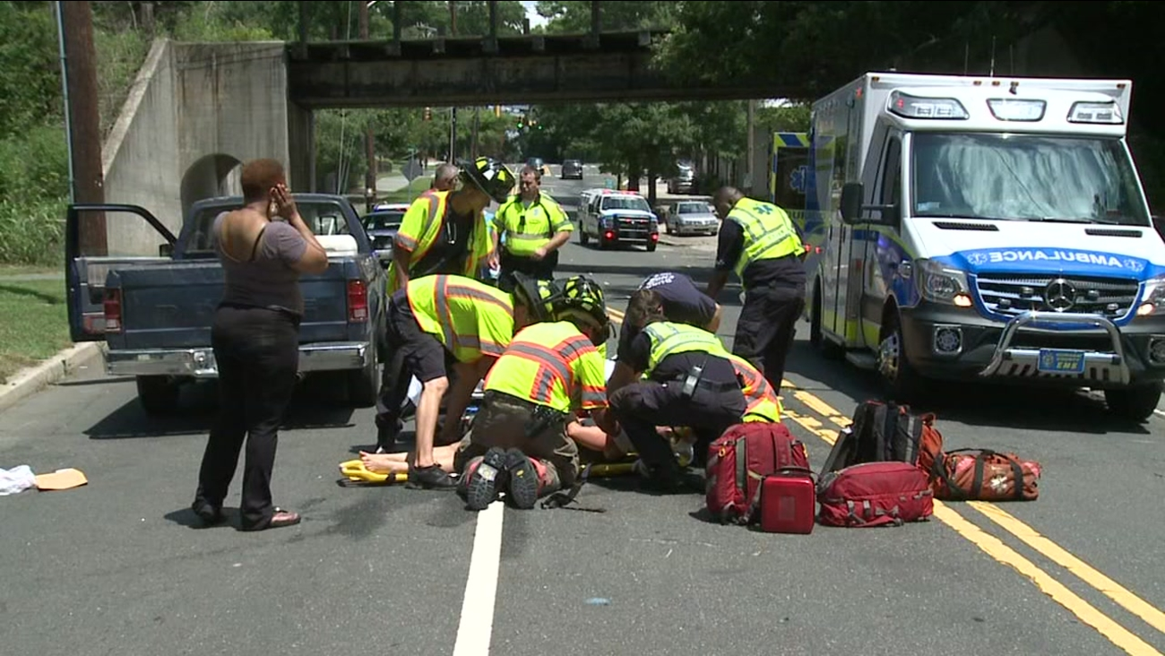 Cyclist hit in Durham