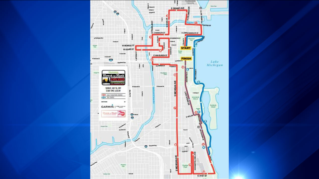 Humana Rock 'n' Roll Chicago Half Marathon & 10K