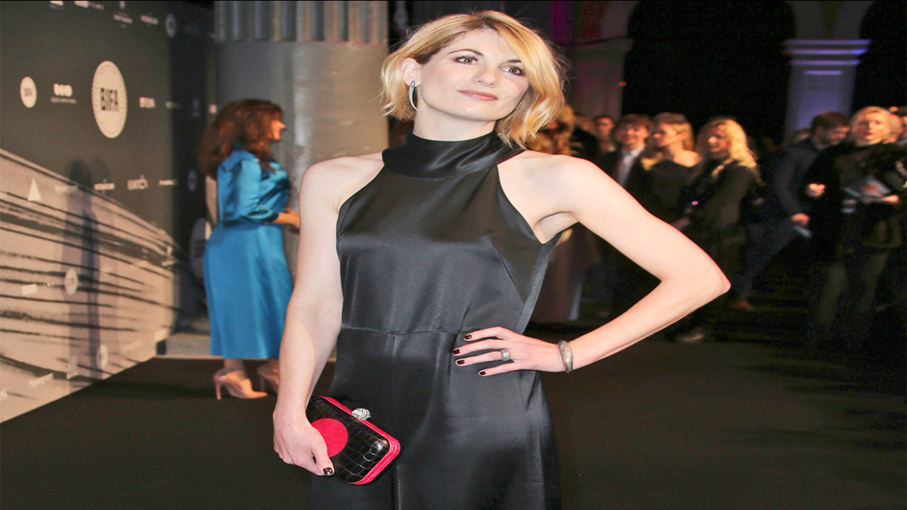 FILE - In this file photo dated Sunday, Dec. 4, 2016, British actress Jodie Whittaker poses for photographers upon arrival at The British Independent Film Awards in London.