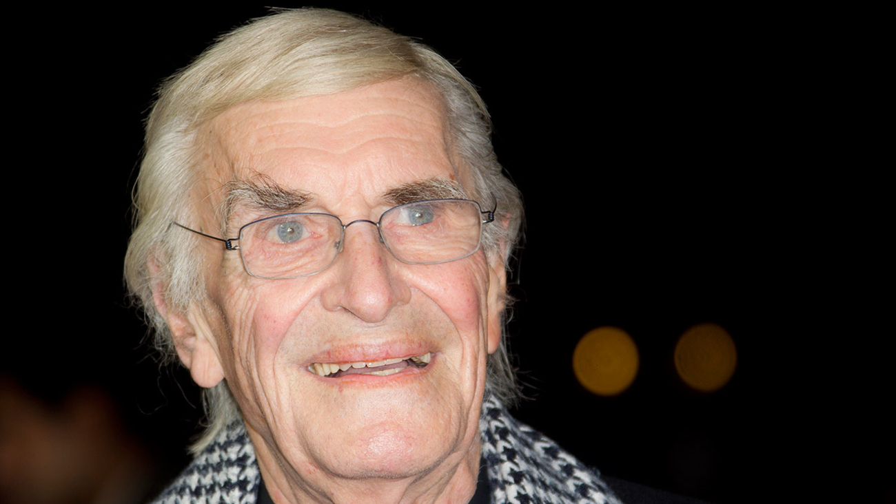 "Martin Landau arrives at a screening for Tim Burton's ""Frankenweenie"" in London on Oct. 10, 2012."