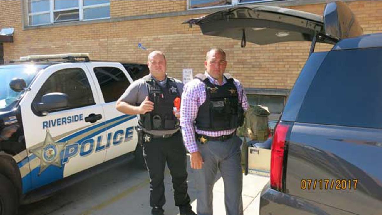 Detective Leo Kotor and Detective James Lazansky.