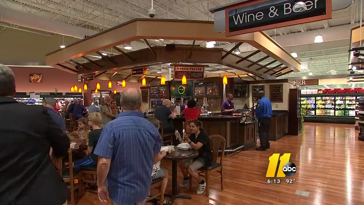 Brier Creek Boom Continues With Harris Teeter With A Bar Abc11com