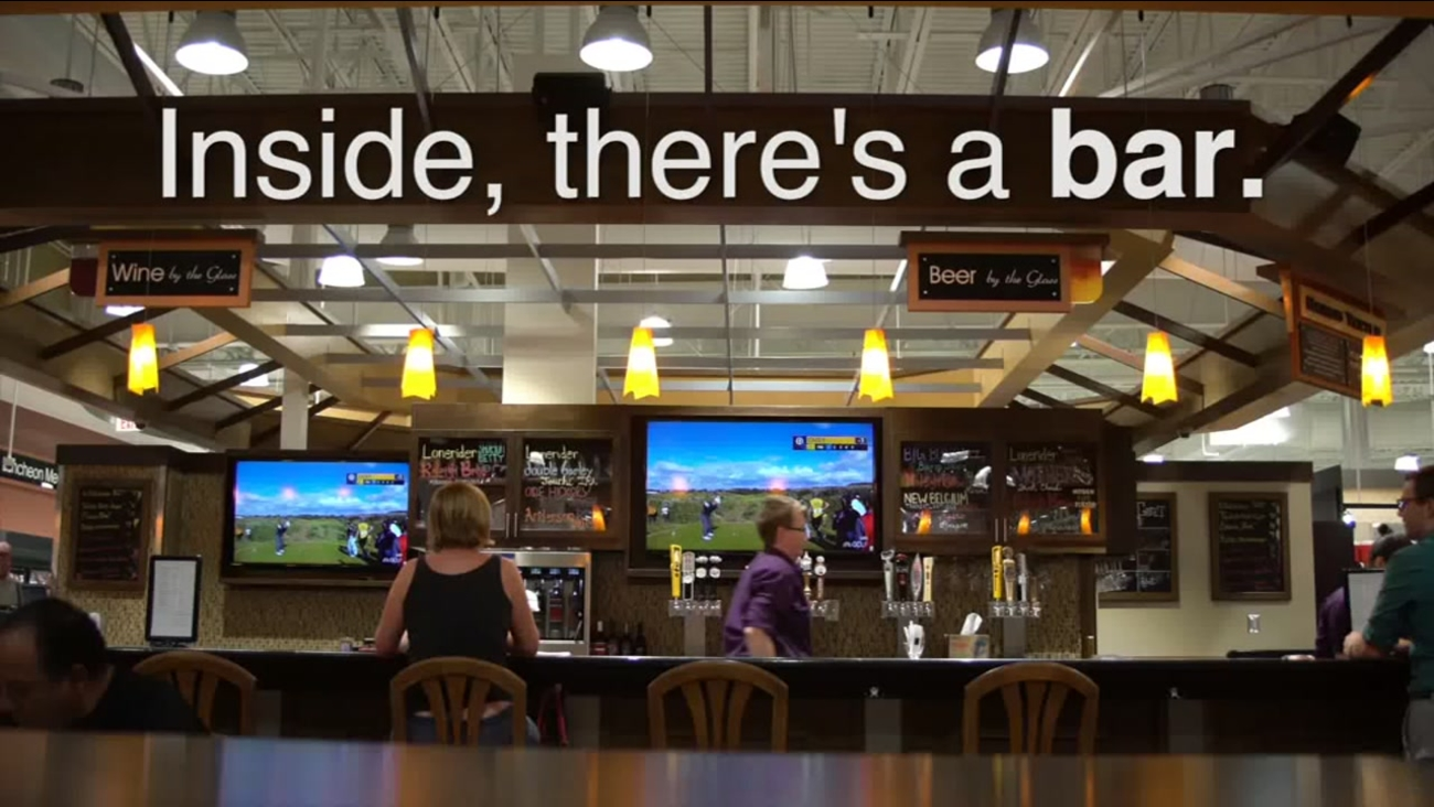 We Go Inside The New Bar At The Brier Creek Harris Teeter Abc11com