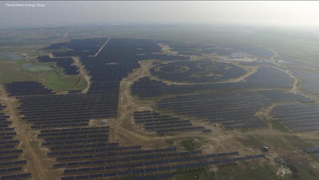 Solar Panda Power Plant