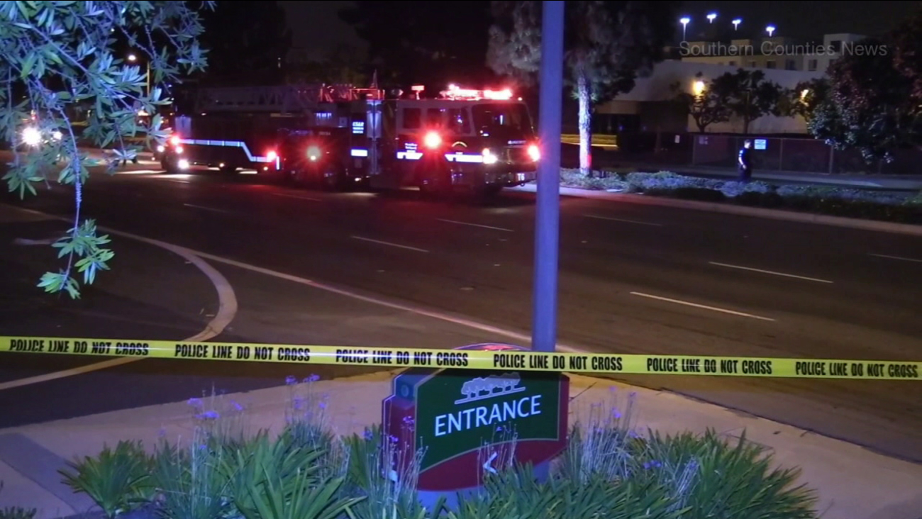 Firefighter-paramedics and police responded to a fatal crash in Irvine on Saturday, July 22, 2017.