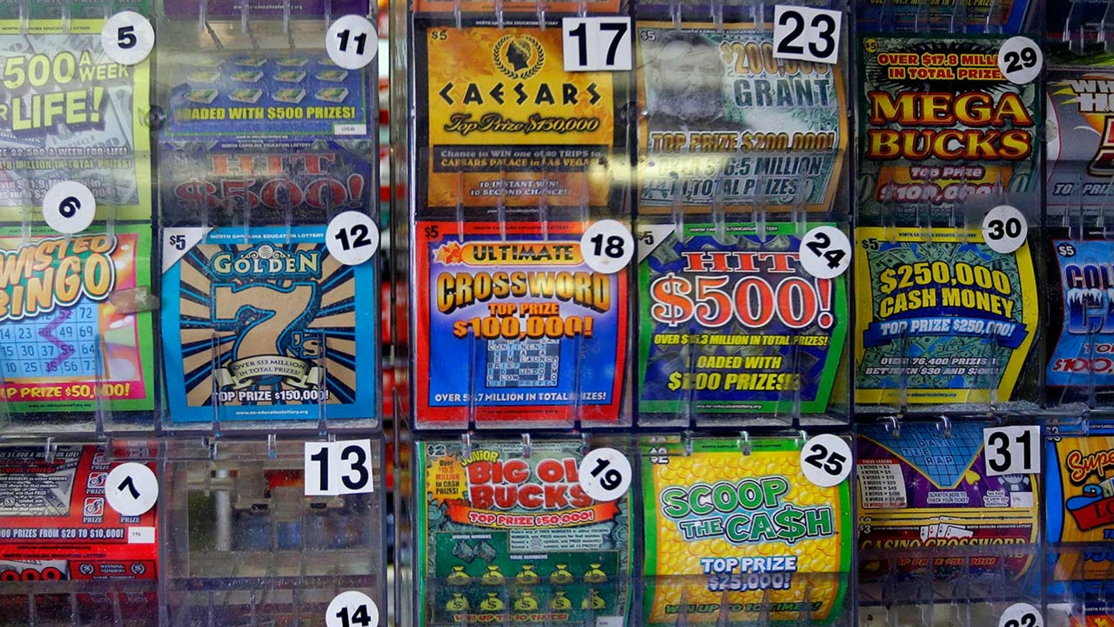 Man sues lottery for not honoring $5M ticket