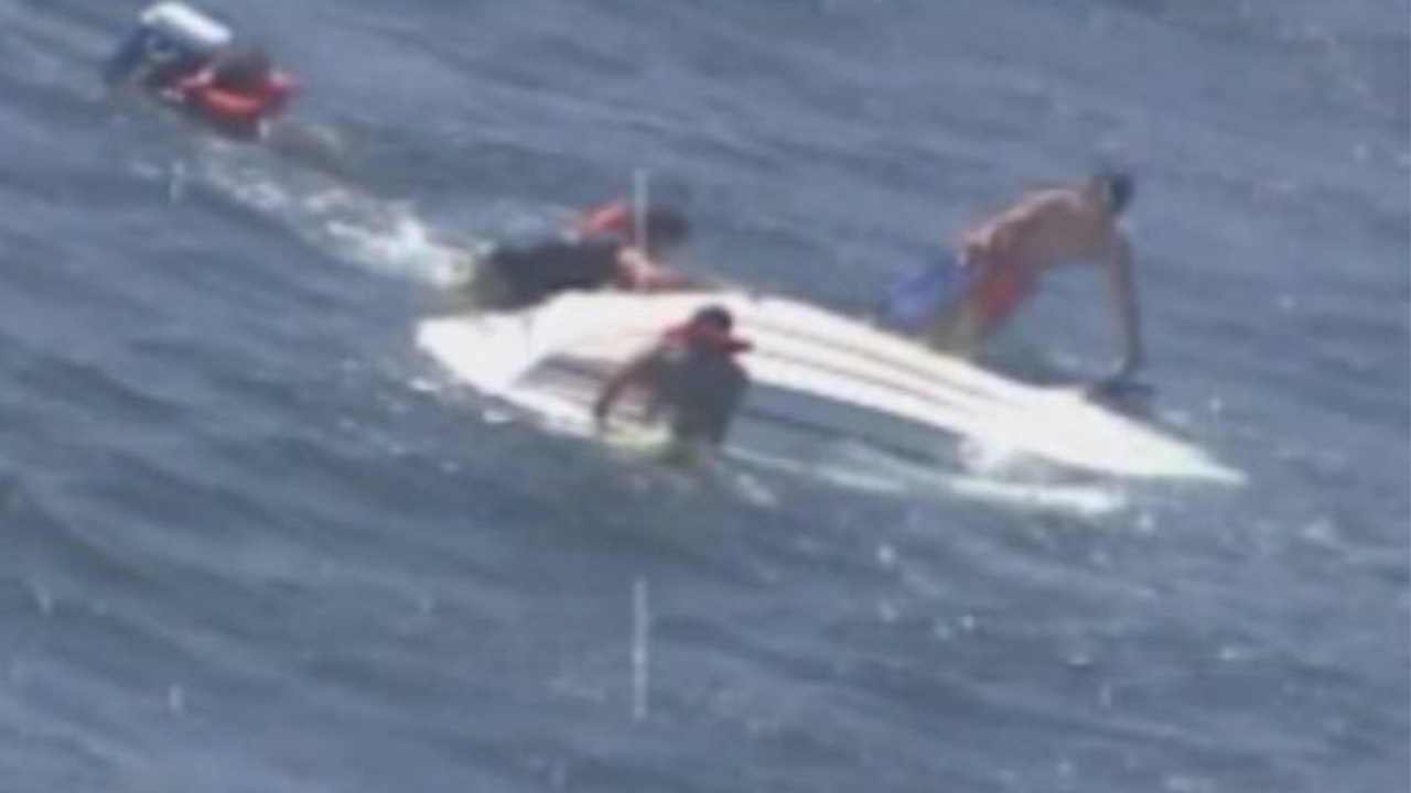 Coast Guard rescues 5 from Topsail Island