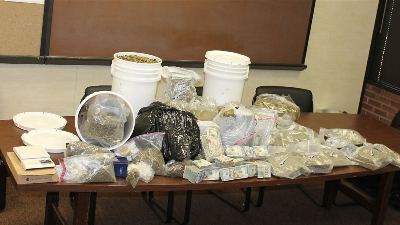 96 pounds of pot was found (image courtesy Sanford Police Department)