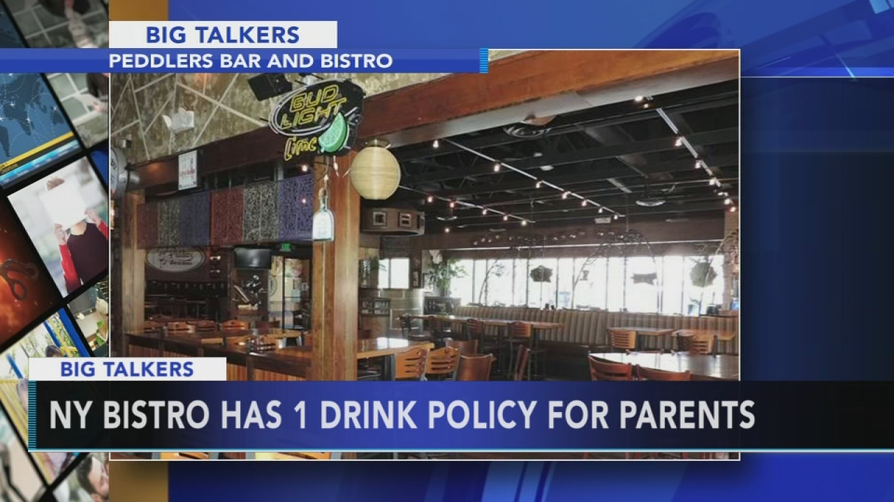 NY restaurant has 1 drink rule for driving parents | 6abc.com