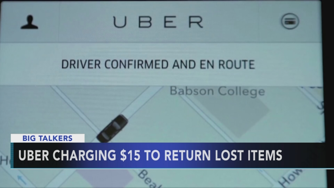 Uber charging customers to return lost items | 6abc com