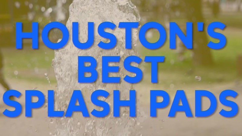 See five of Houston's coolest splash pads