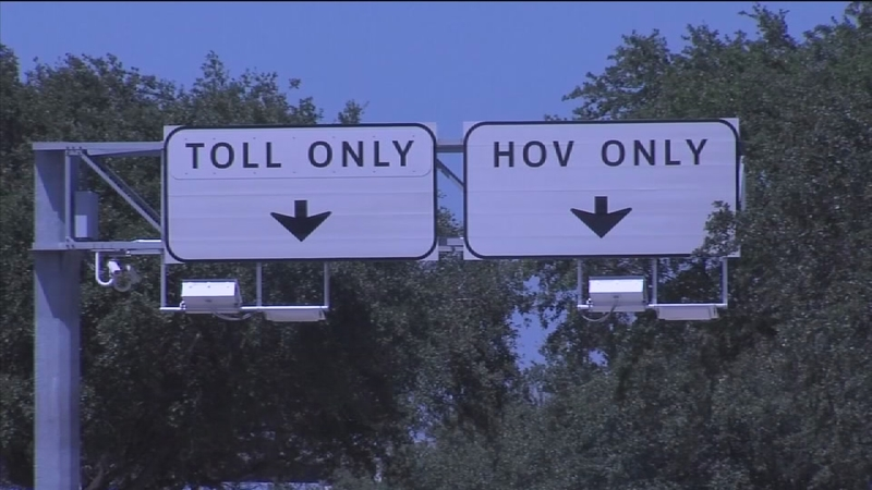 The HOT lane rule that may land you a ticket even if you pay toll fee