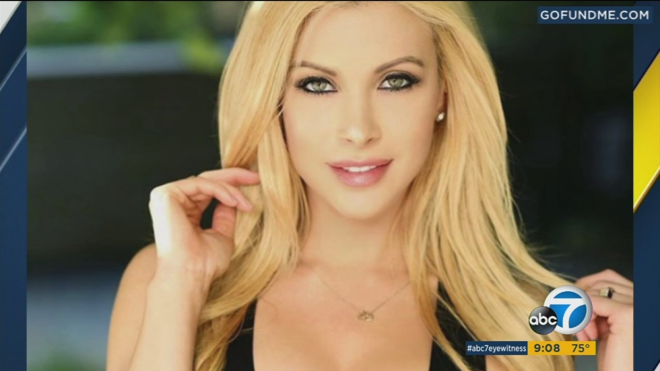 An undated photo of model Kimberly Ann Fattorini, 30, who was found dead in a West Hollywood apartment on Friday, July 21, 2017.