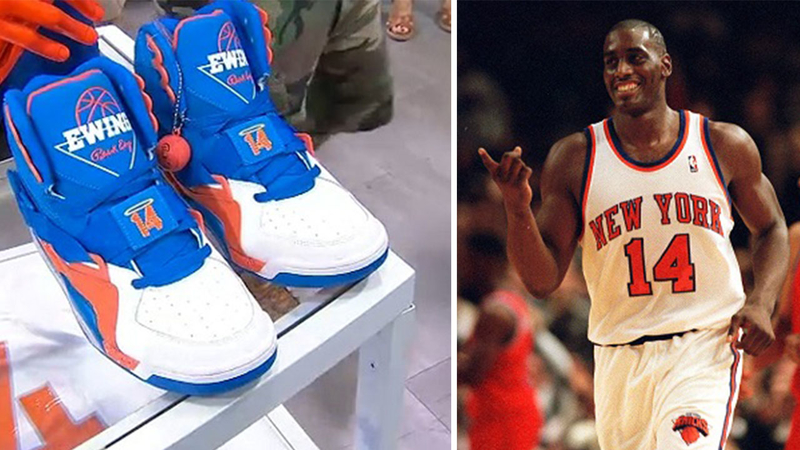 quality design c0a1d 43c90 Sneakers pay tribute to late Knicks great Anthony Mason