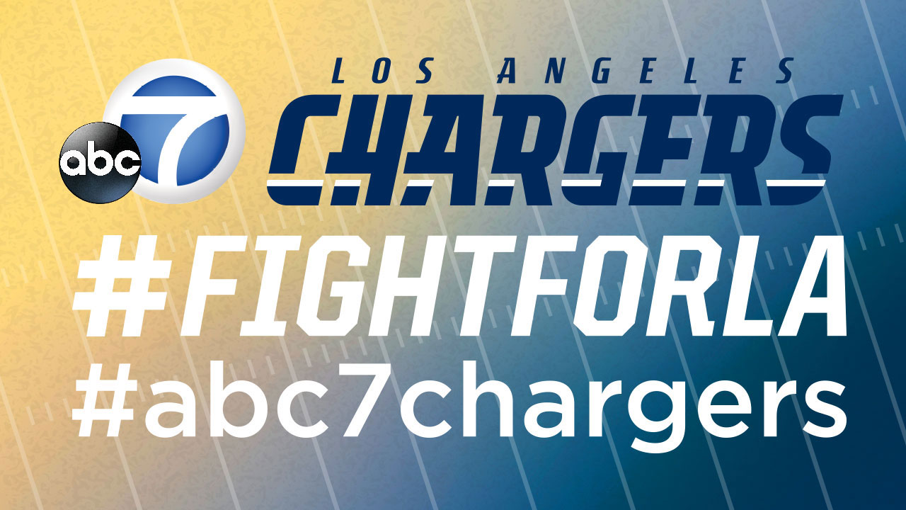 See photos of Los Angeles Chargers fans shared by ABC7 viewers.