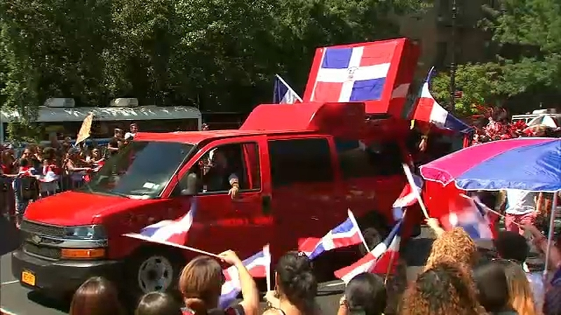 Domincan Day Parade hits streets of the Bronx
