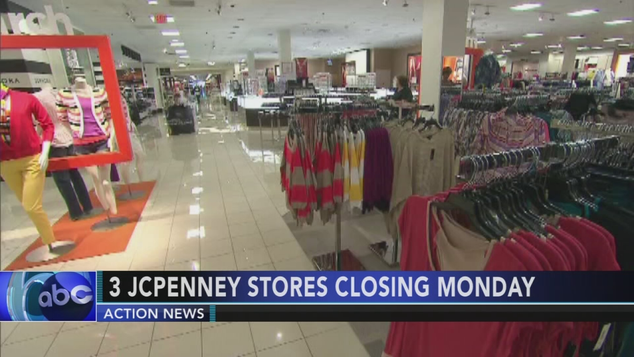 3 local jc penney stores closing 6abccom