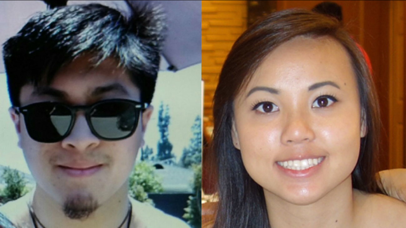 Authorities are searching for Joseph Orbeso and Rachel Nguyen, who went missing while on a hiking trip in Joshua Tree National Park.