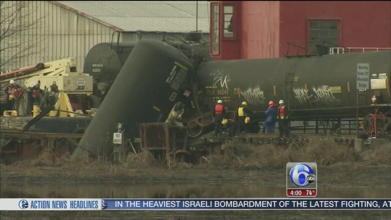 VIDEO: Paulsboro derailment report