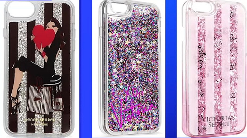 competitive price f7700 bddb6 Popular glitter iPhone cases with liquid inside are being recalled ...