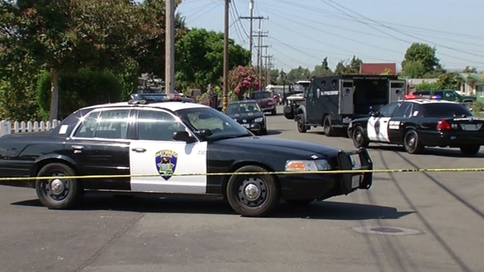 Eviction turns into standoff at Hayward home