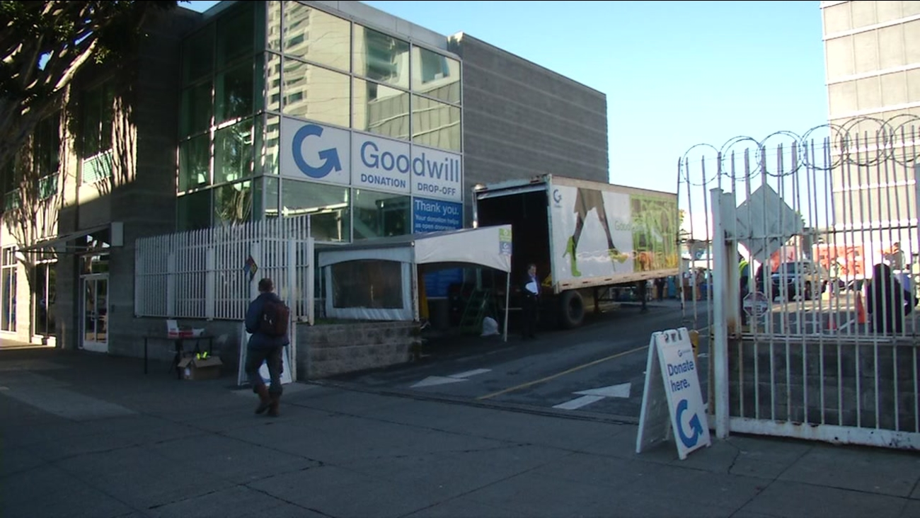 This is an undated image of a Goodwill store.