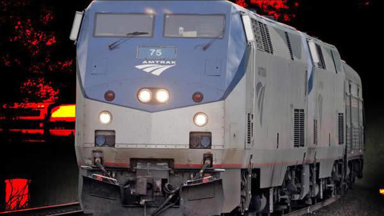 Amtrak train generic