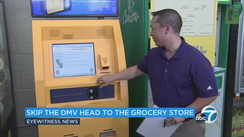 DMV self-serve kiosk now in 20 SoCal grocery stores | abc7 com