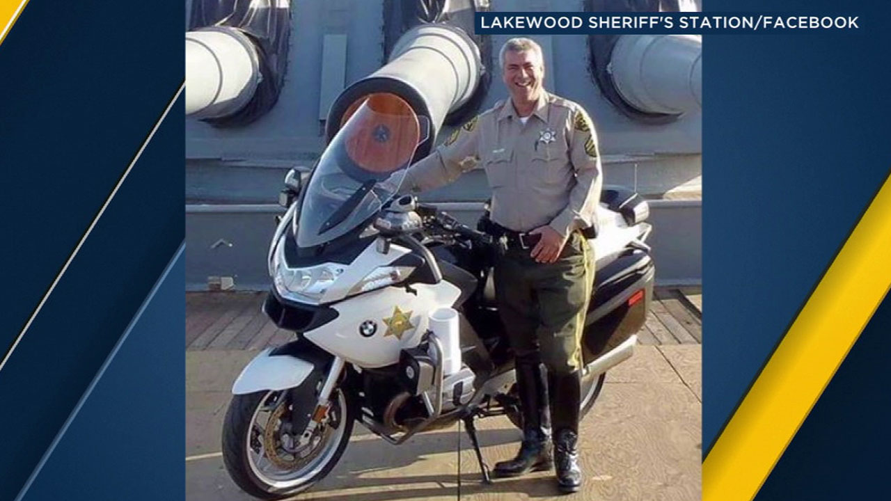 Los Angeles County sheriff's deputy Michael Haak.