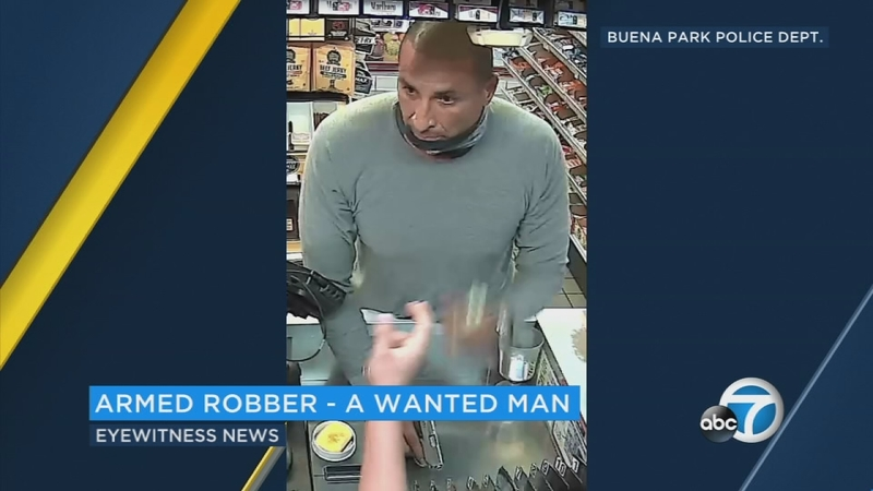 Buena Park Chevron stations believed to be robbed by same man