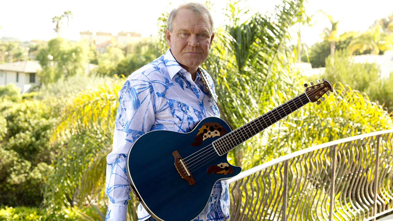 Glen Campbell is seen here July 27, 2011.