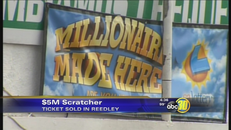 Reedley man wins $5 million in California Lottery from Million $$ Match  ticket