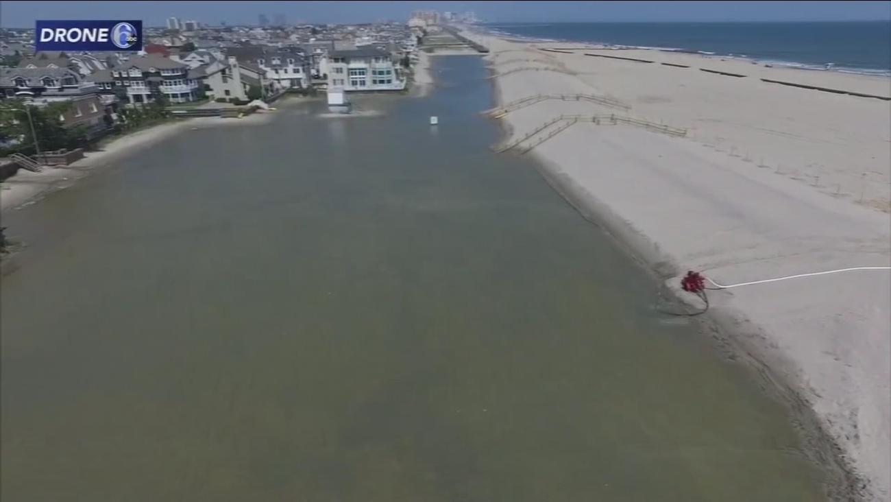 Federal government wants OK to resume Margate dune project