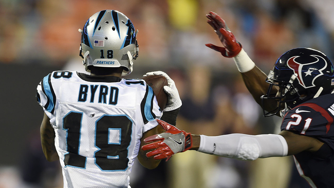 cam sits byrd shines as panthers beat texans 27 17