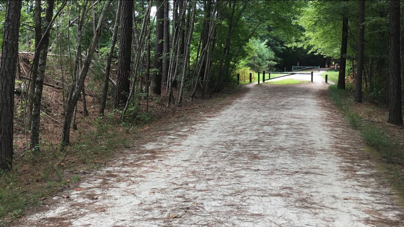 The area to be relocated (image courtesy Town of Cary)