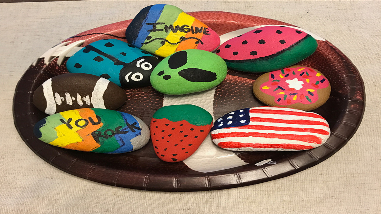 "These ""Kindness Rocks"" are hidden throughout the Triangle! Have you found one?"